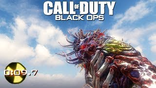 MW2 TACTICAL NUKE IN BO1 KINO (Ending) Call of Duty Black Ops Zombies Wonder Weapon Mod