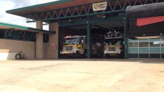 HFD Engine 40, Structure Fire Response