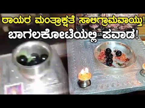 Bagalkot : ಬಾಗಲಕೋಟೆಯಲ್ಲಿ ಮಂತ್ರಾಲಯ ಶ್ರೀ ರಾಘವೇಂದ್ರ ಸ್ವಾಮಿಗಳ ಪವಾಡ | Oneindia Kannada