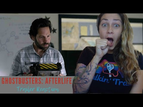 GHOSTBUSTERS: AFTERLIFE   Official Trailer REACTION!