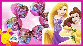 Princesses Disney - oeufs surprises - Raiponce Cendrillon Jasmine Ariel EGGS - Touni Toys Titounis
