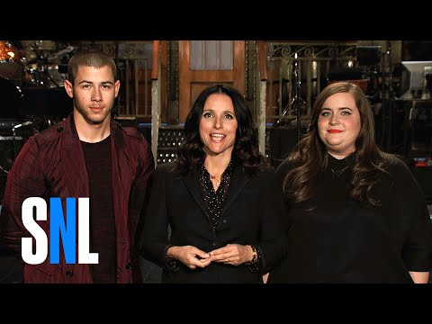 Thumbnail: Aidy Warns SNL Host Julia Louis-Dreyfus To Stay Away From Nick Jonas