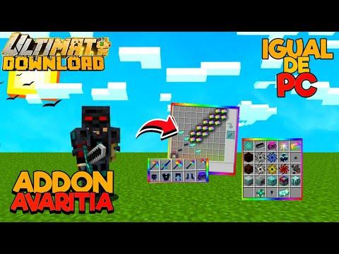 Download LANÇOU!! NOVO ADDON/MOD DO AVARITIA IGUAL DE PC PARA MINECRAFT PE 1.16+