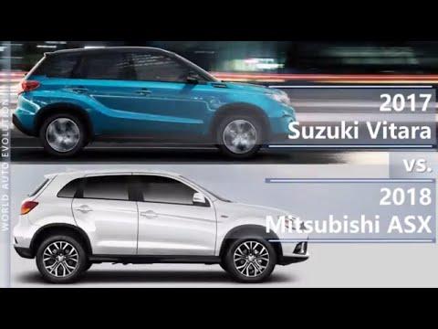 2017 Suzuki Vitara vs 2018 Mitsubishi ASX / Outlander Sport (technical comparison)