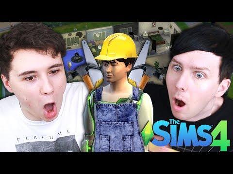 DIL'S GRAND DESIGN - Dan and Phil Play: Sims 4 #43
