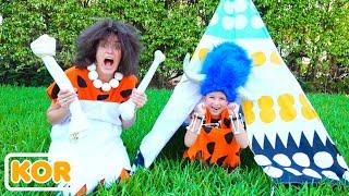 블라드와 니키는 엄마와 함께 야외 게임   아이들을위한 컬렉션 비디오