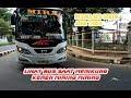 Artis Nikung Miring Bus Jawa Timur Suasana Terminal Giwangan