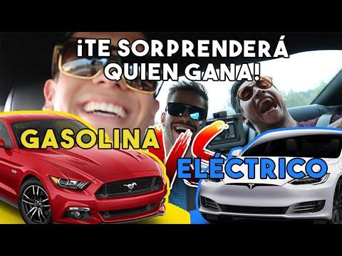 ¡MUSTANG GT SUPERCARGADO VS TESLA! ¿QUIEN GANARA? || ALFREDO VALENZUELA