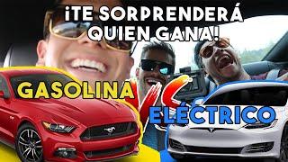 ¡MUSTANG GT SUPERCARGADO VS TESLA! ¿QUIEN GANARA?    ALFREDO VALENZUELA