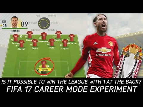 Is It Possible To Win The League With One At The Back? - FIFA 17 Experiment