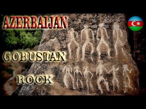 Azerbaijan, Gobustan Rocks -To the Caspian Sea ep 24-Travel vlog calatorii tourism video