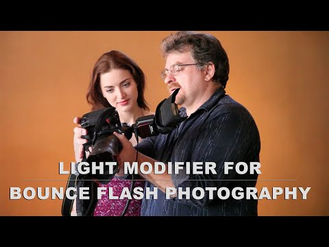 Black Foamie Thing - on-camera flash modifier