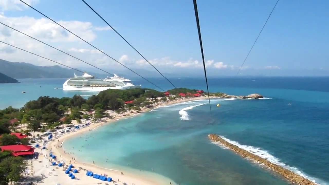 Labadee Haiti Dragon\'s Breath Zip Line - Royal Caribbean - Navigator ...