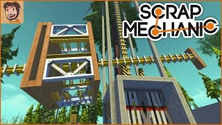 "Let's Play Scrap Mechanic: ""Fixing"" the Elevator"