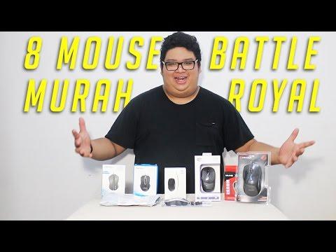 8 Mouse Murah Battle Royal | UNBOXING