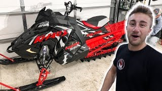 POLARIS SENT US A BRAND NEW SNOWMOBILE!
