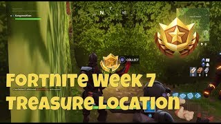 Fortnite: Battle Pass Week 7 Treasure Map Location - Retail Row