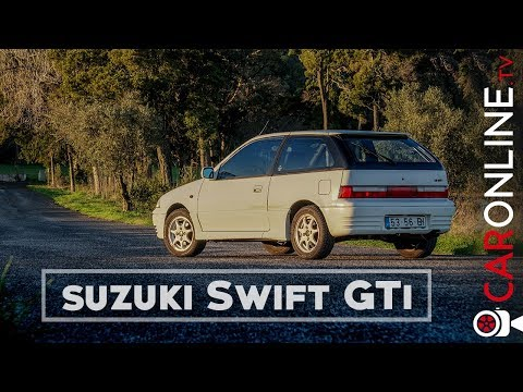 SUZUKI SWIFT GTi era o POCKET ROCKET JAPONÊS dos anos 80/90! [Review Portugal]