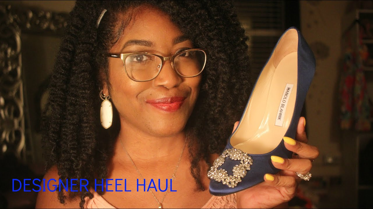67fe2407e278 Designer Heel Haul Manolo Blahnik   Jimmy Choo - YouTube