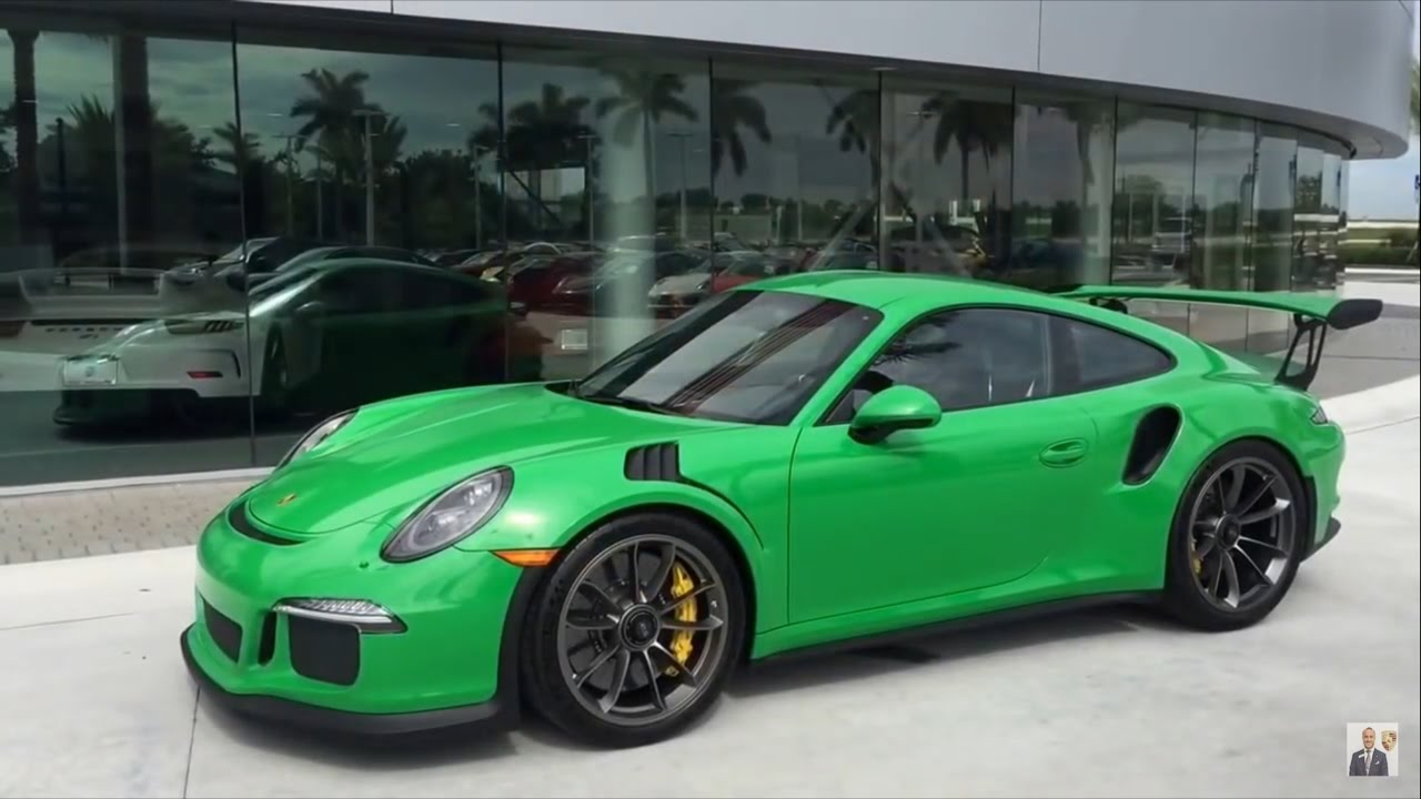2016 Viper Green Porsche 911 Gt3 Rs Paint To Sample 500 Hp