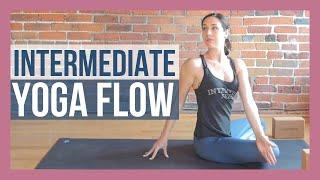 30 min Intermediate Yoga Flow - Minimal Cues Yoga