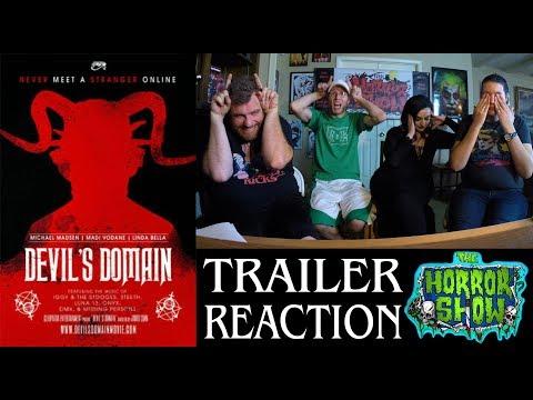 """""""Devil's Domain"""" 2017 Horror Movie Trailer Reaction - The Horror Show"""