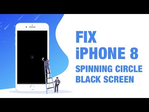 Iphone 8 8 Plus Black Screen Spinning Wheel Circle The Quickest