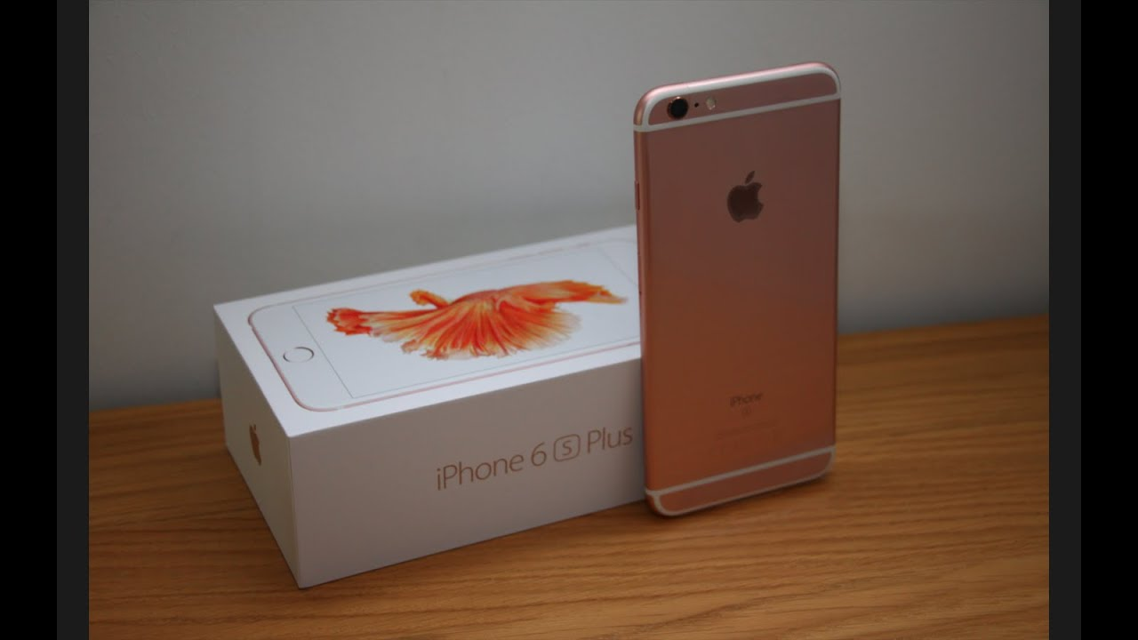 unboxed iphone 6s plus 64gb rose gold first boot up. Black Bedroom Furniture Sets. Home Design Ideas