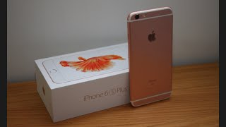 Unboxed : iPhone 6S Plus 64GB (Rose Gold) + First Boot-Up