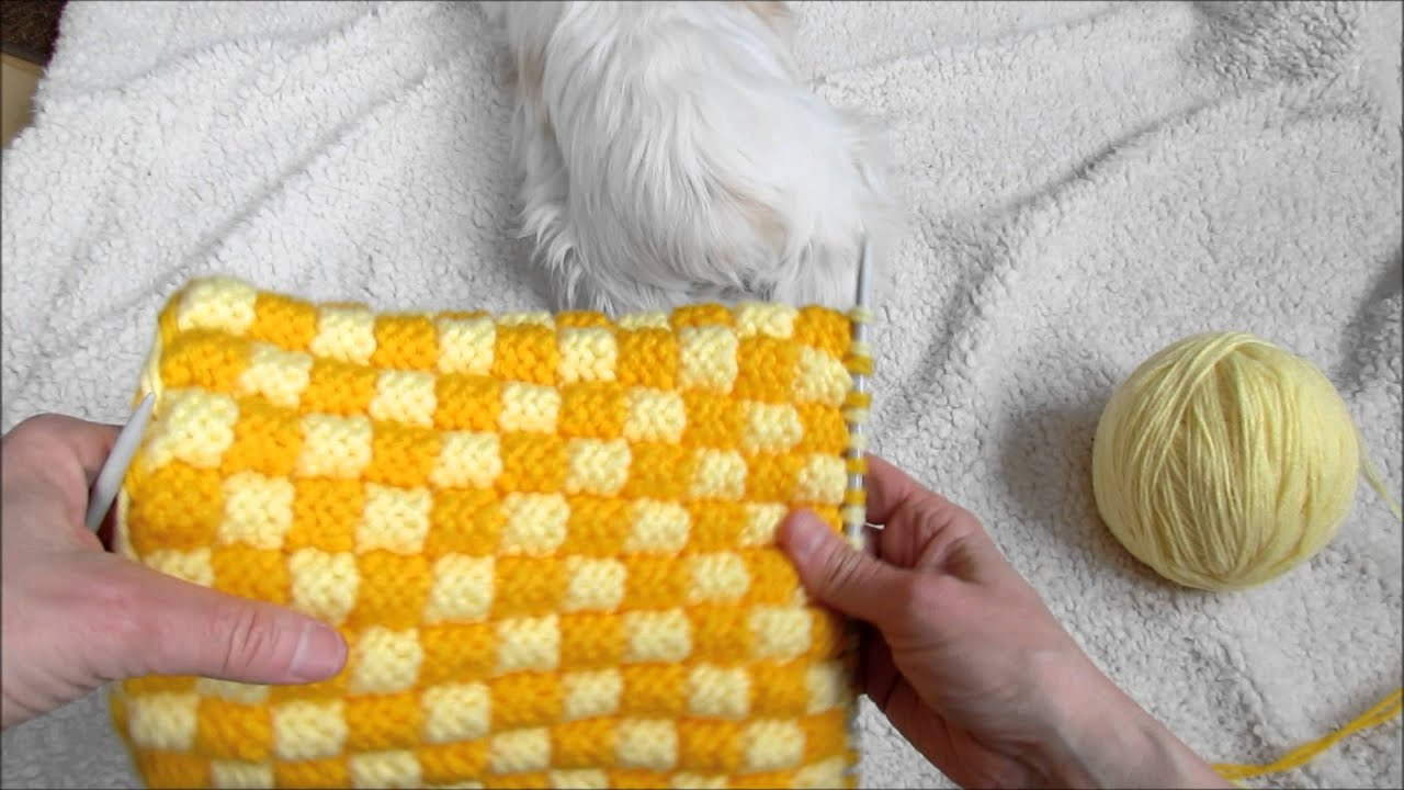 comment tricoter pantoufles