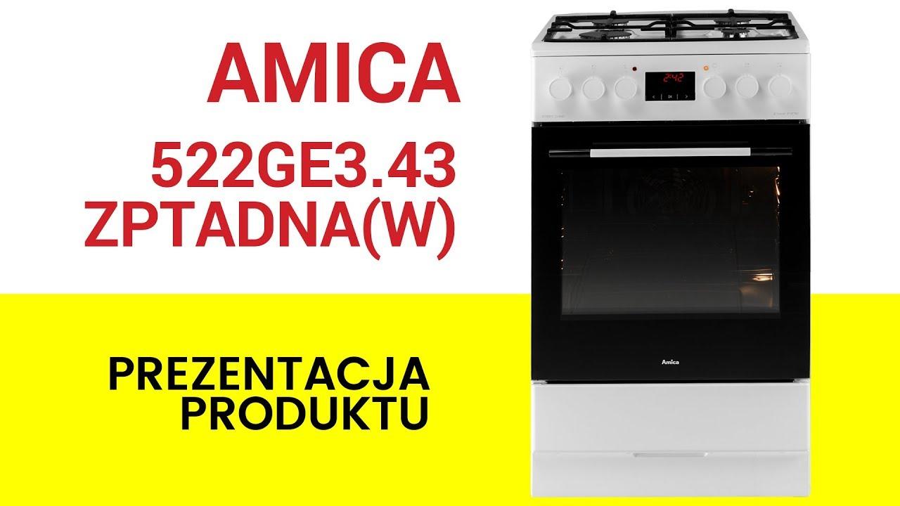 Amica 522ge343zptadnaw Kuchnia Ceny I Opinie W Media Expert