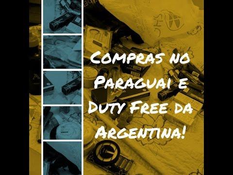 Compras no Paraguai e Duty Free da Argentina - 10/2014