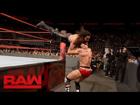 Seth Rollins vs. Cesaro: Raw, Nov. 27, 2017