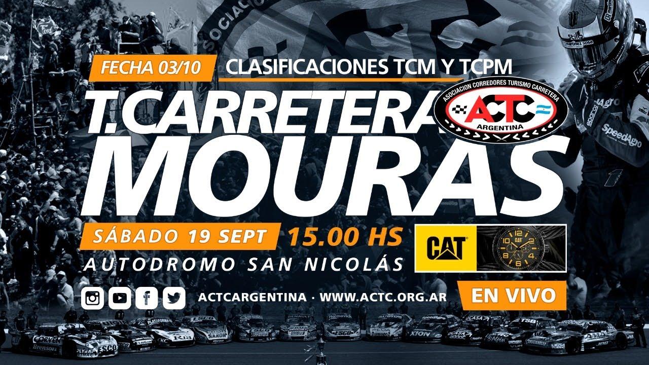 03-2020) San Nicolás: Sábado Clasificaciones TCM y TCPM