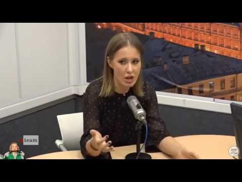 Ксения Собчак в легкую уделала четырех журналистов с Эхо Москвы.
