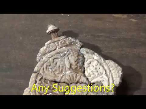 Large Cent, War of 1812 Button, Tombacs, & OLD GOLD? Colonial site Feb 2017