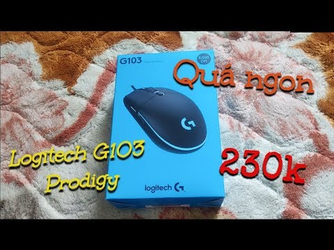 Trên Tay Nhanh Chuột Logitech G103 Prodigy Giá Chỉ 230k trên SHOPEE | Nâng Cấp Đáng Giá Từ G102