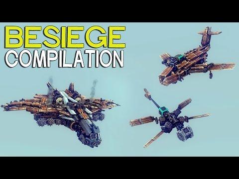 ►Besiege Compilation - Popular Flyers