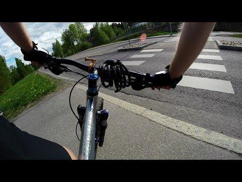 a photo every 2 sec on my cycling trip to Helsinki - Timelapse 4K