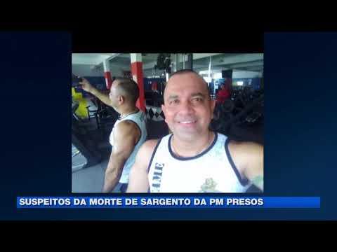 Suspeitos de morte de sargento da pm presos