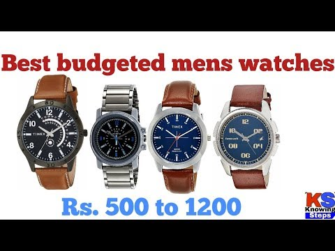 Best Watches For Men Budget Under Rs 1000 । Top 5 Watches Brands For Men