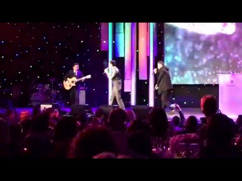 """MC Jin and Tim Be Told perform """"Into the Stars"""" and """"Glow"""" at the Unforgettable Gala"""