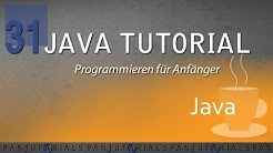 Java Tutorial Programmieren für Anfänger 31 -- Private, Public, Default, Protected
