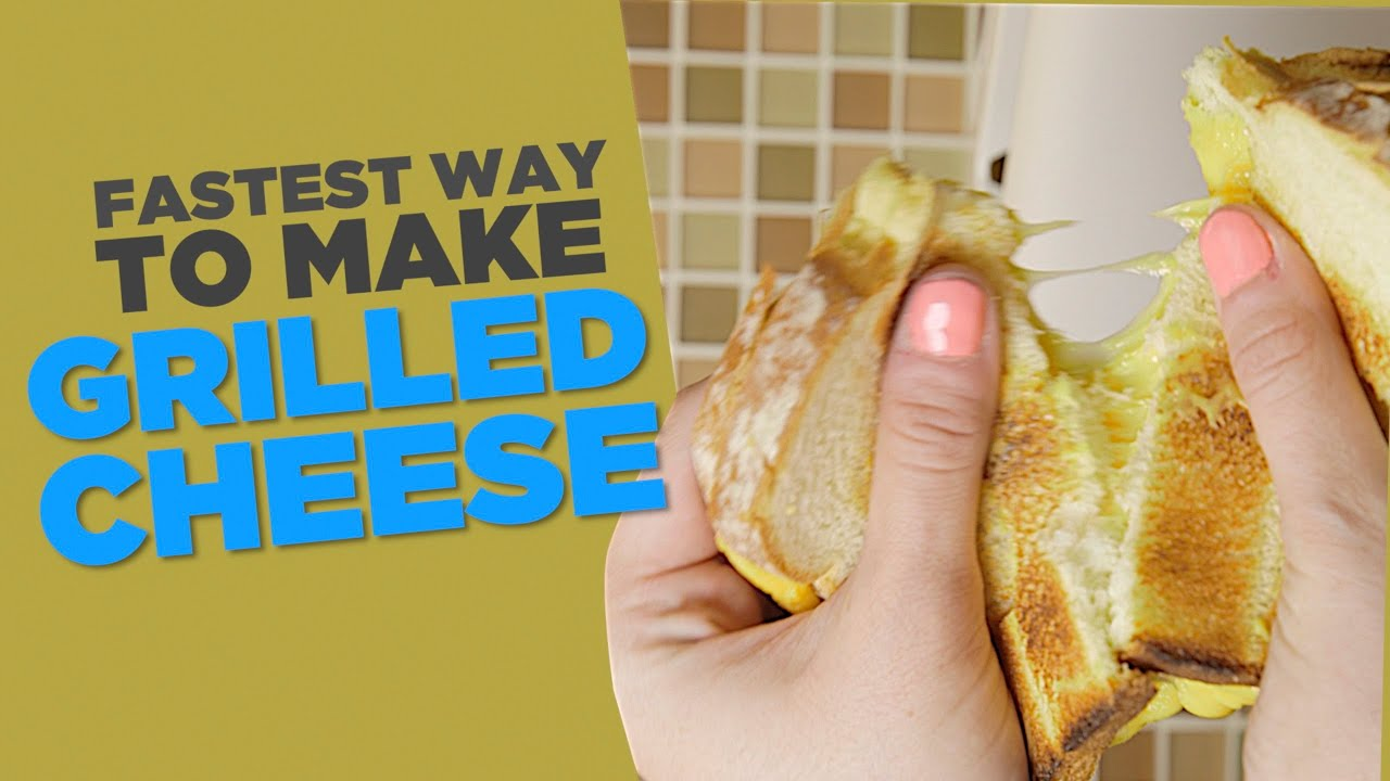 The Fastest Way To Make The Best Grilled Cheese