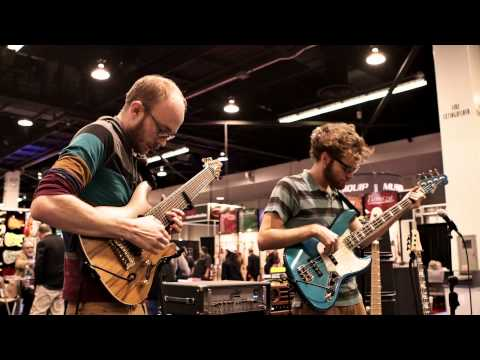 NAMM :Josh Martin & Ryan Donald Little Tybee  At The Dunlop Booth