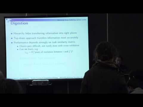 NIPS 2014 Workshop - (Raetsch) Second Workshop on Transfer and Multi-Task Learning: Theory...