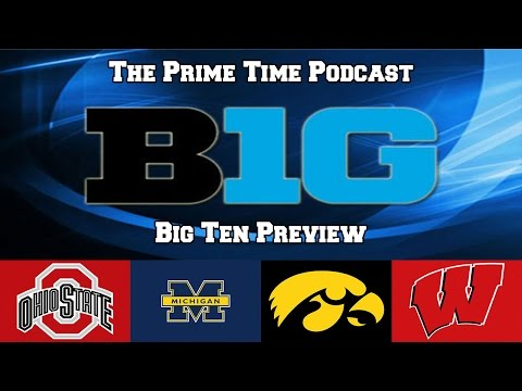 2016 Big Ten Conference Predictions