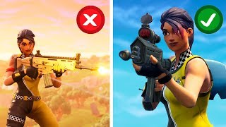 FORTNITE 7 THINGS YOU DIDN'T KNOW ABOUT THE ASSAULT FUSIL (SECRETS)
