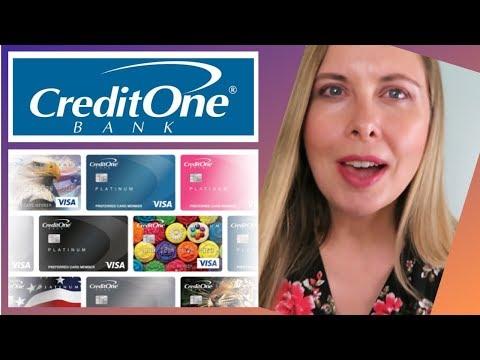 Credit One Credit Card Review - Platinum Credit One Visa