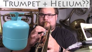 Playing the Trumpet on Helium
